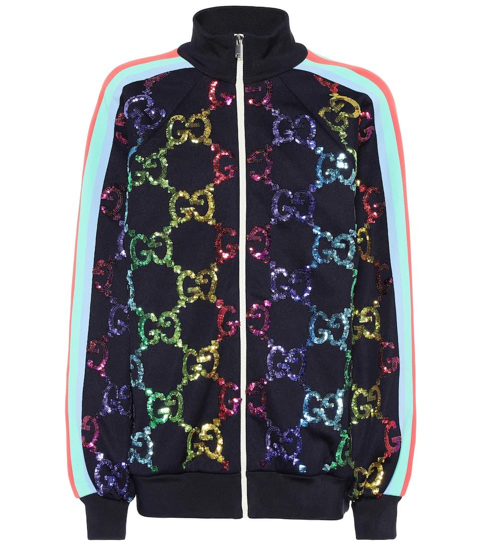 ce9da707d Gg Sequined Track Jacket | Gucci Mytheresa