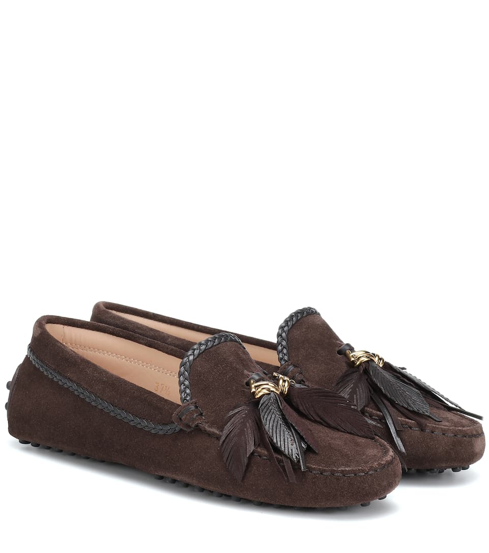 7b2566dd5e7 Tod s - Gommino suede loafers