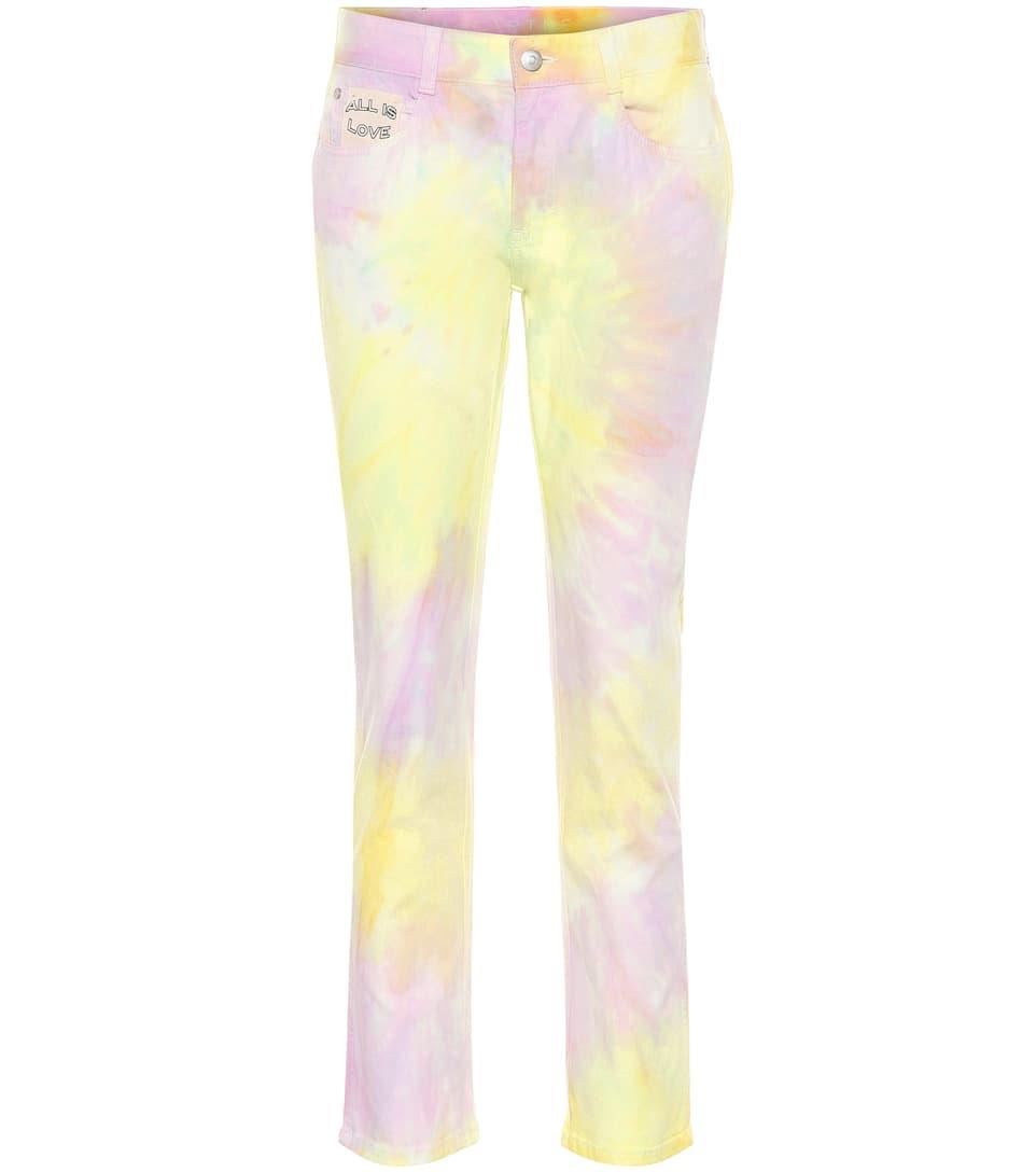 5d53c9a0 Stella McCartney - Tie Dye high-rise straight jeans | Mytheresa