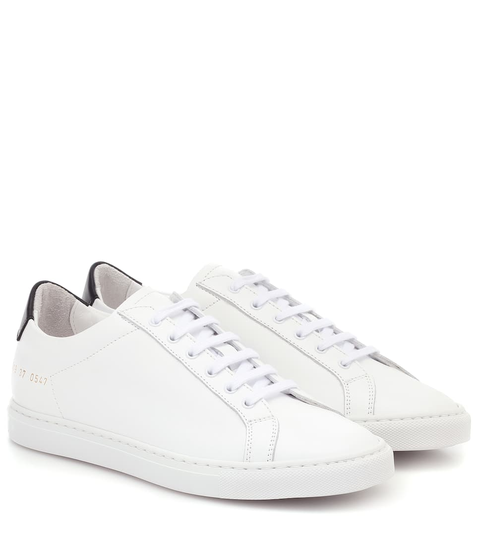Retro Low leather sneakers | Mytheresa