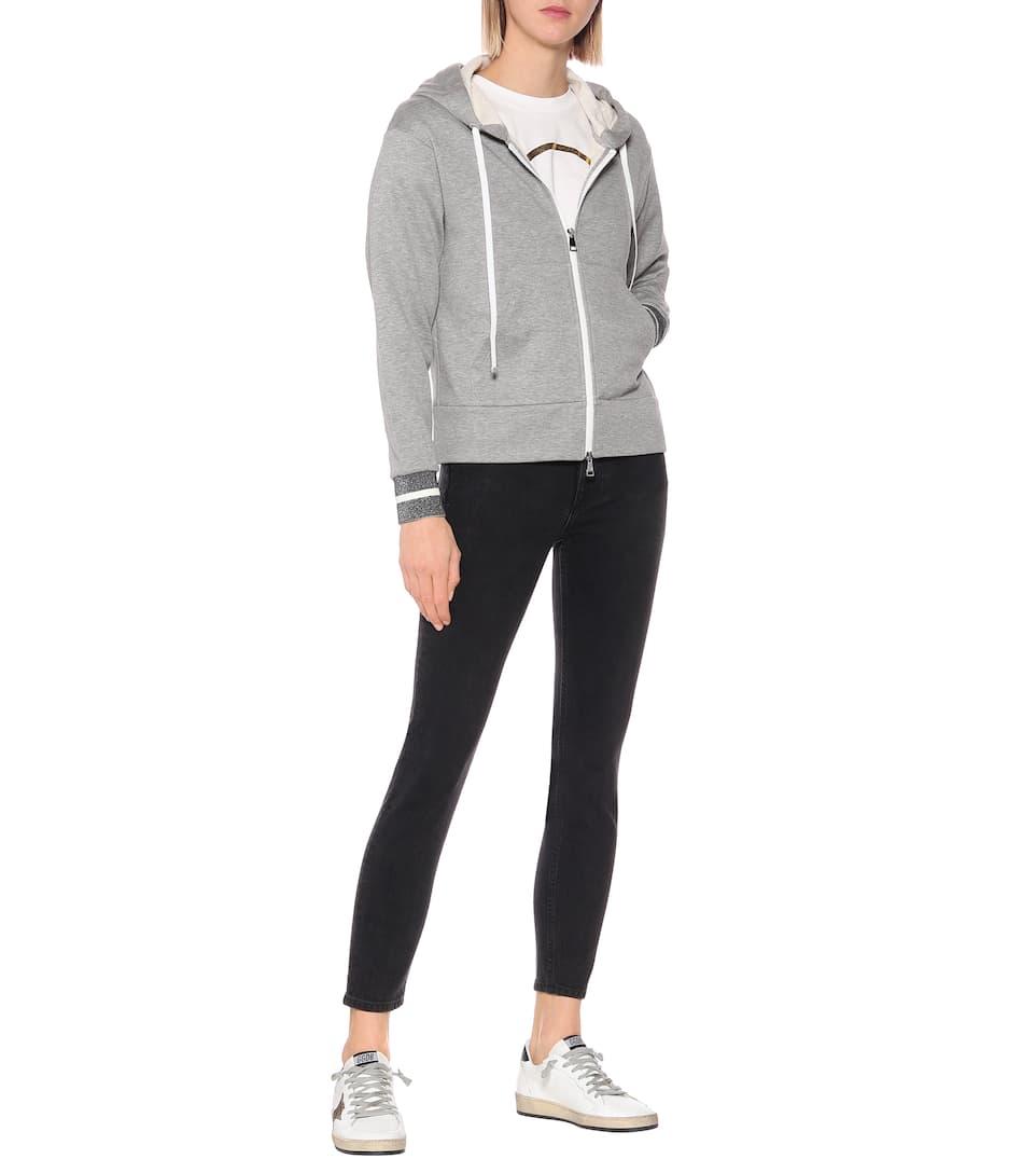 Moncler - Cotton-blend hoodie