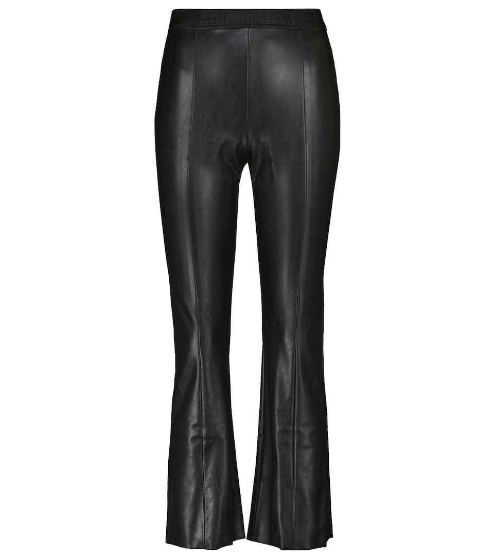Jenna slim faux leather pants