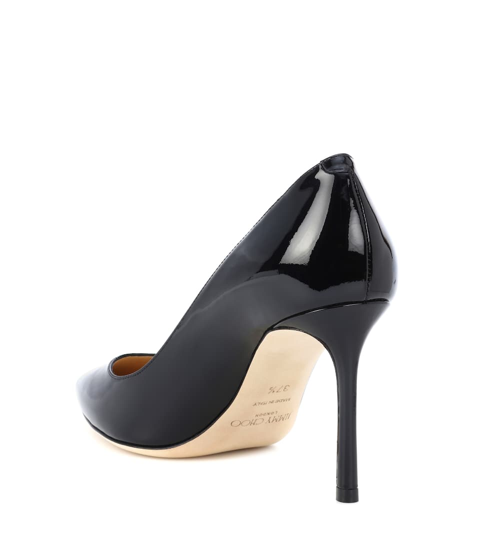 Jimmy Choo Pumps Romy 85 aus Lackleder