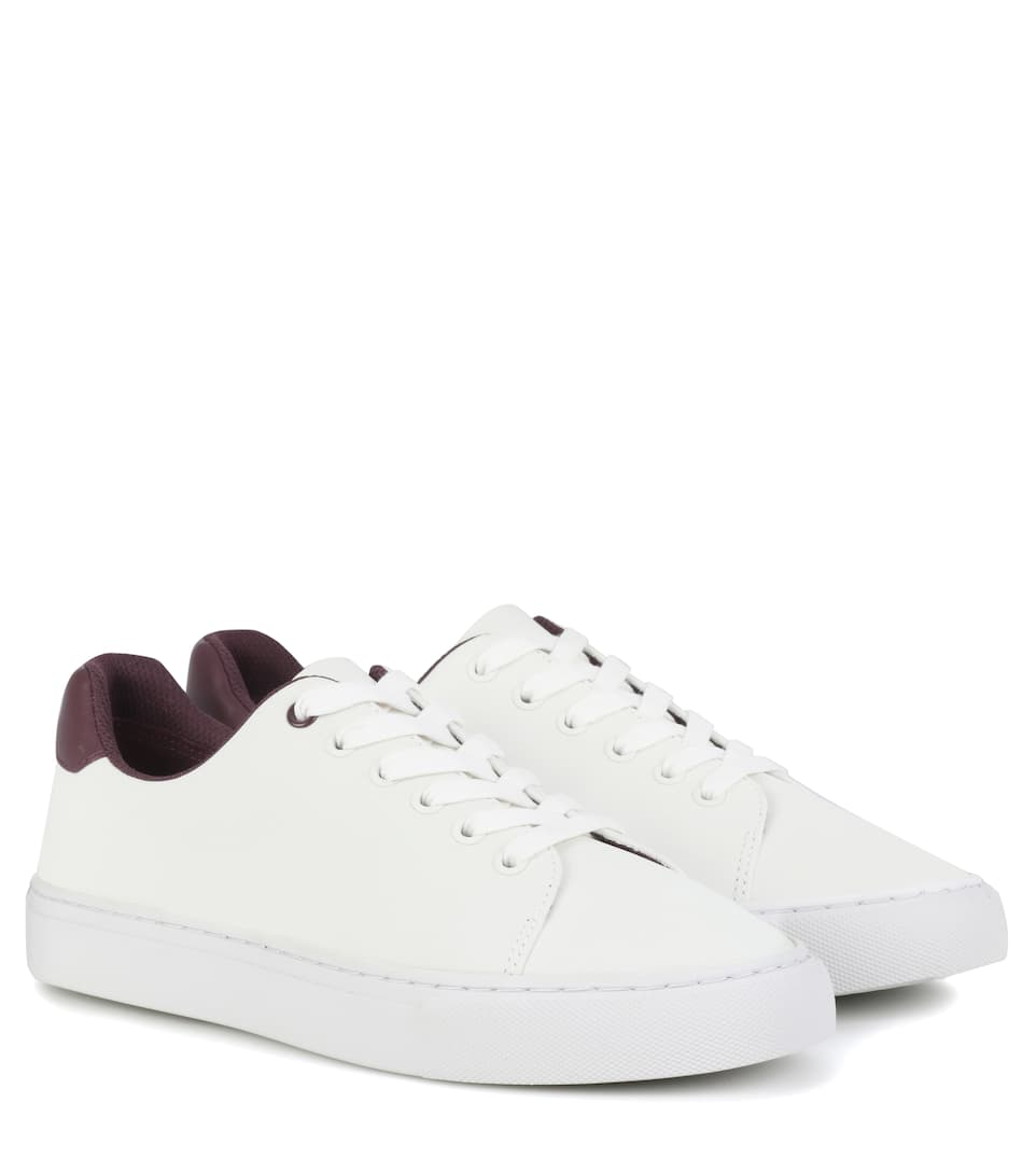 Reflective leather sneakers Tory Sport AkAvx
