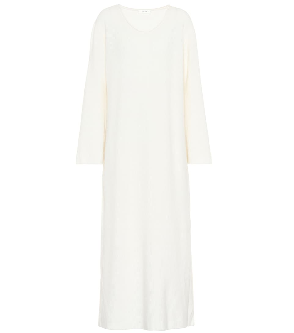 The Row Dress Tirrie From Cashmere