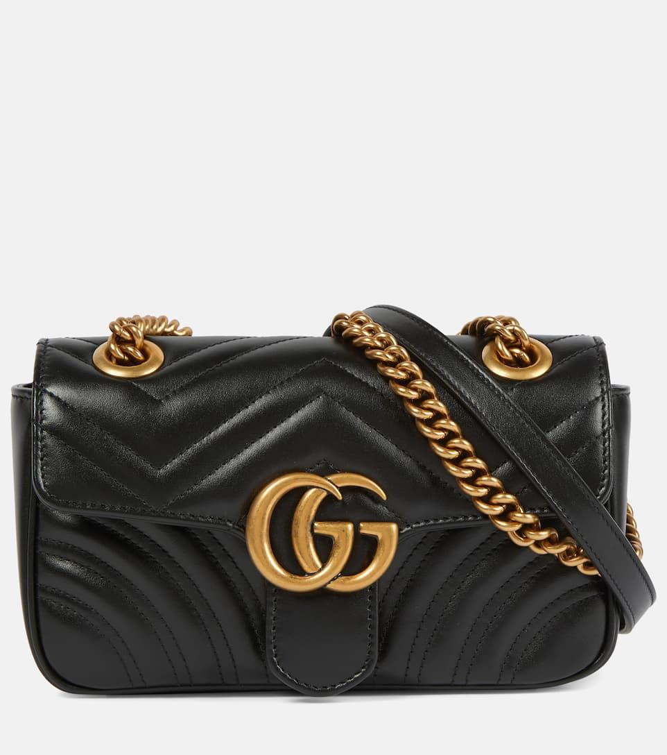 d83cfcd23625 Gg Marmont Mini Matelassé Leather Shoulder Bag | Gucci - mytheresa
