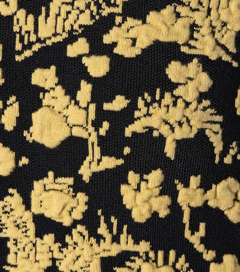 Victoria Victoria Beckham Ärmelloses Minikleid mit Baumwollanteil