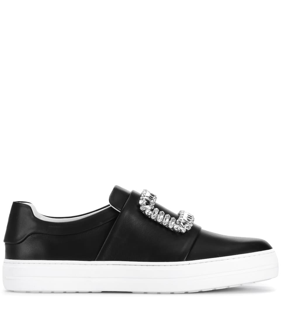 Verkauf Größten Lieferanten Klassische Online Roger Vivier Sneakers Sneaky Viv' aus Leder q7VNIoO