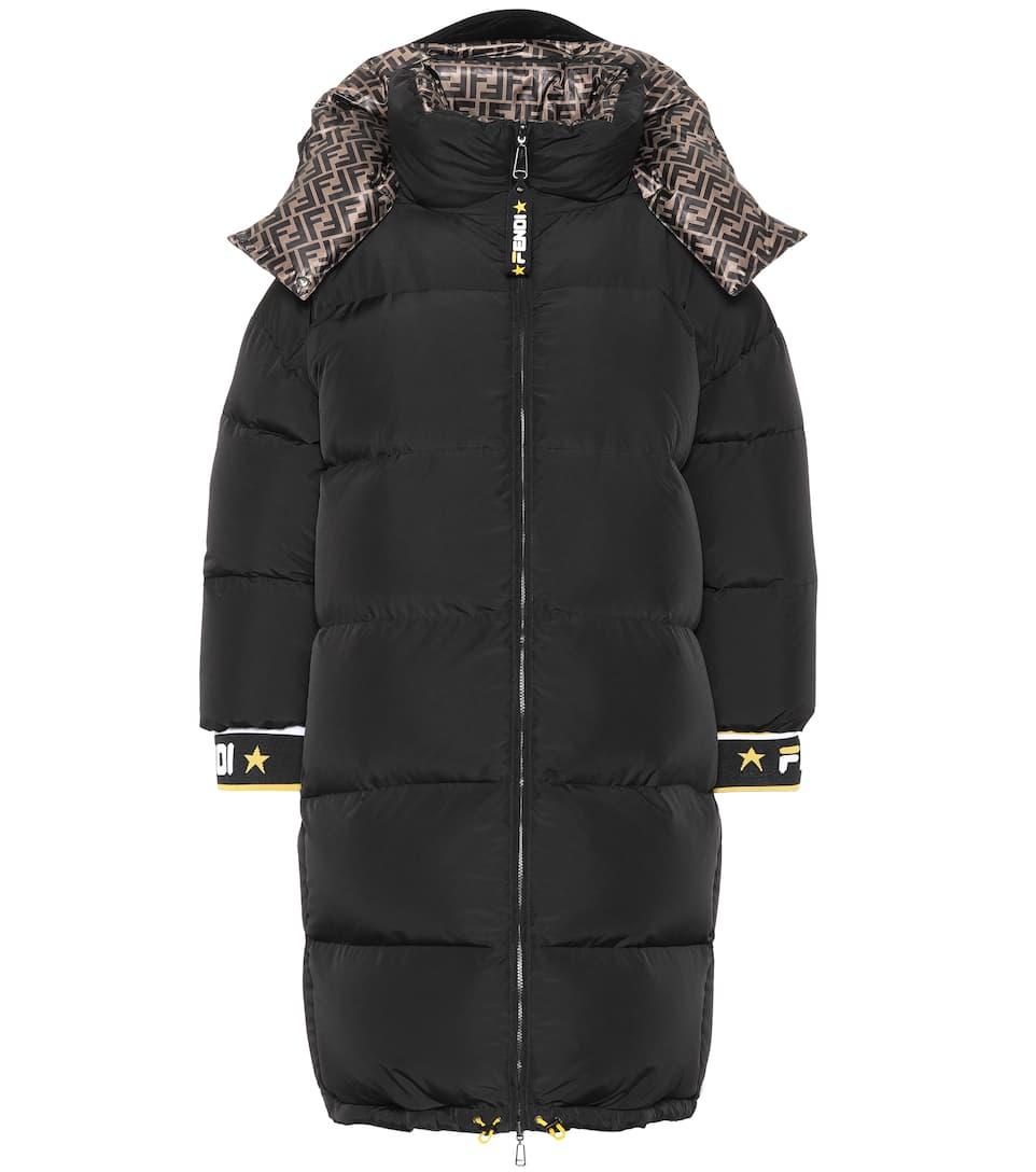 Fendi Mania Reversible Down Coat by Fendi