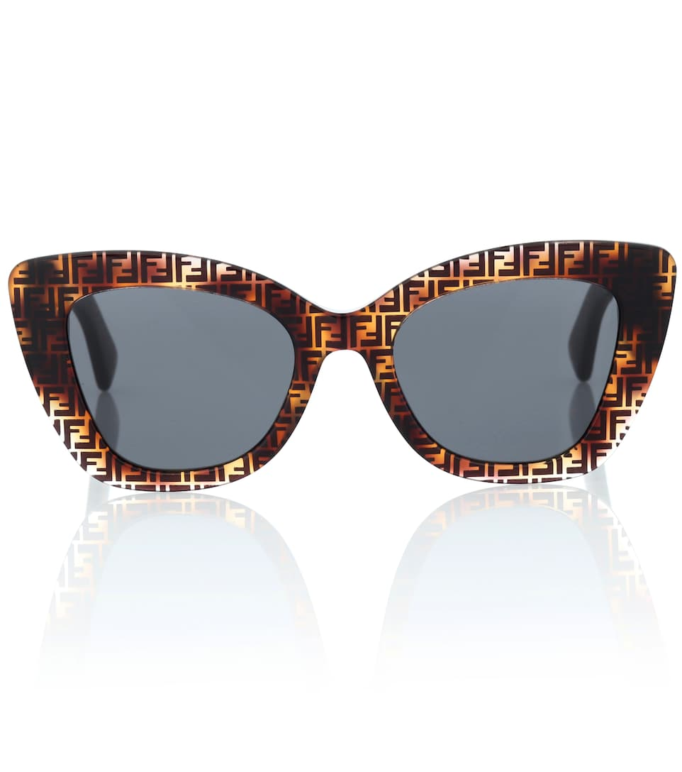 6b7d4f1b5c Logo Cat-Eye Sunglasses - Fendi