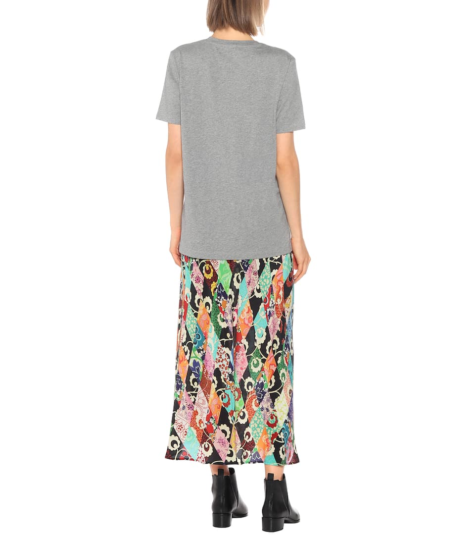 Elisson Cotton T-Shirt - Acne Studios | mytheresa.com