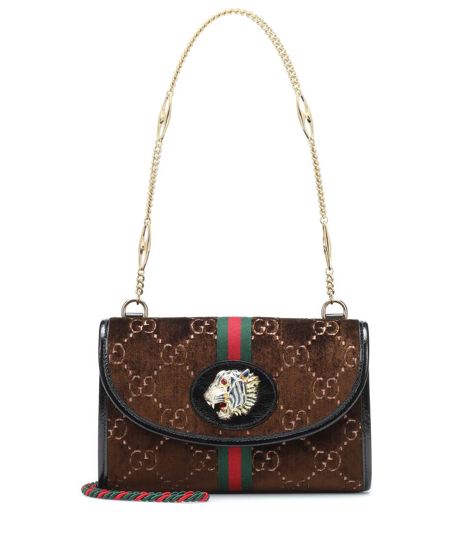 3c5cfeb80709 Rajah Small leather shoulder bag. NEW ARRIVAL. Gucci
