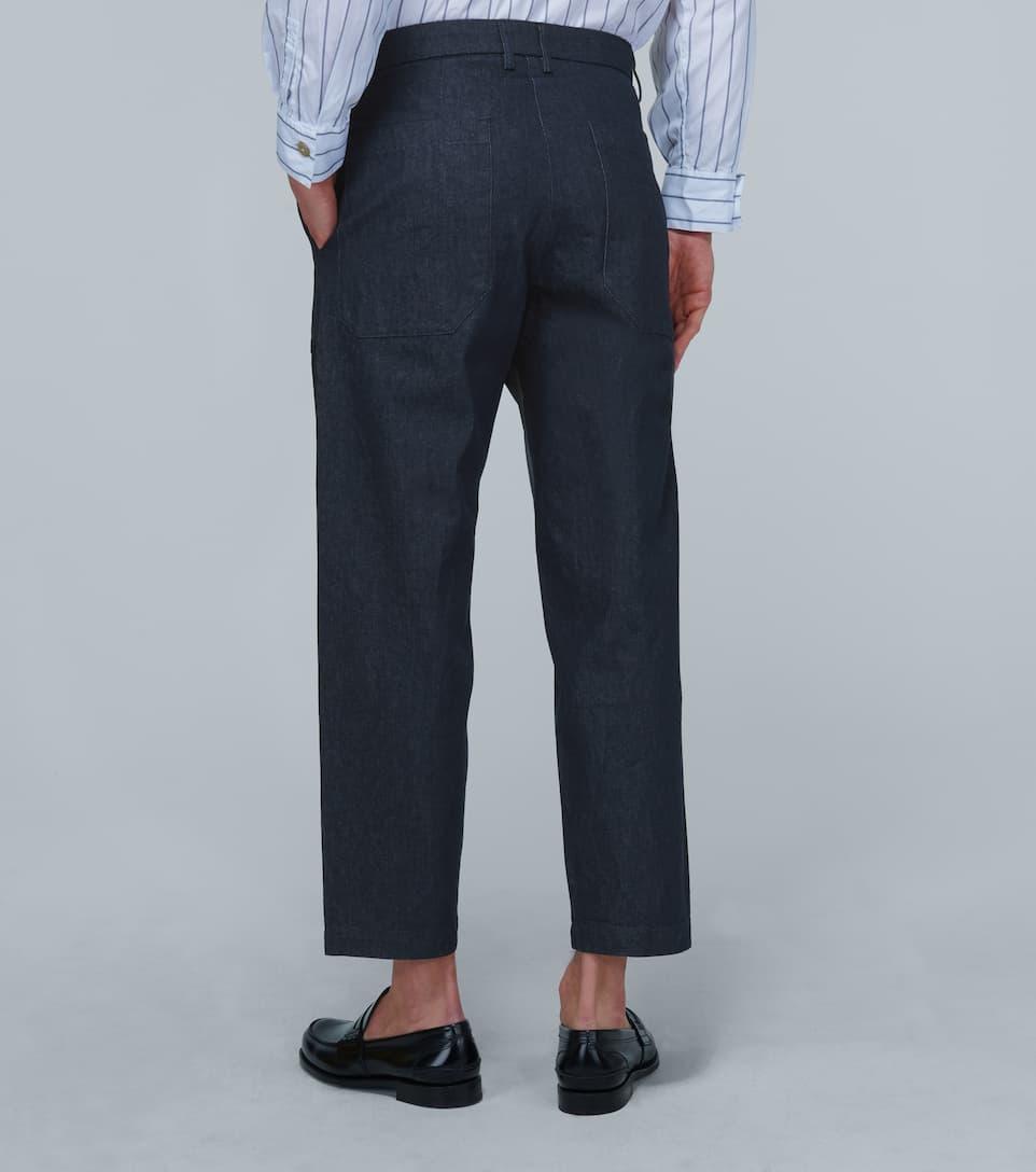 Wide-leg Denim Pants - Barena Venezia Big Discount