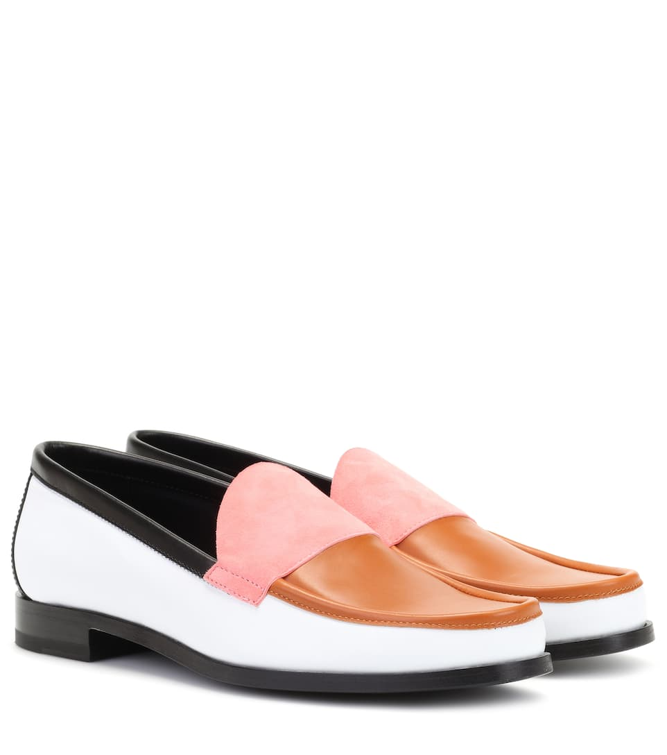 Pierre Hardy Hardy leather loafers Browse Cheap Price Supply Cheap Online Multi Coloured Pictures Online EhxvCr4HU