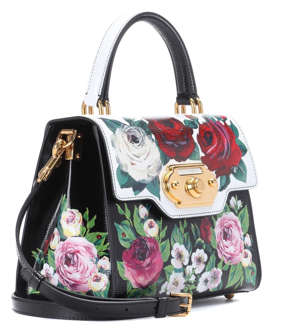 Dolce & Gabbana Henkeltasche Welcome aus Kalbsleder