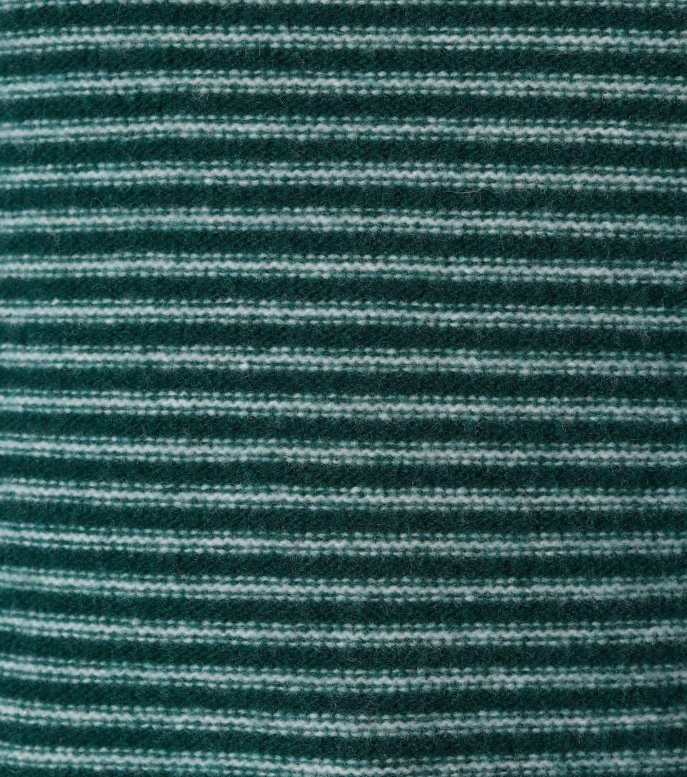 AlexaChung Gestreifter Pullover aus Wolle