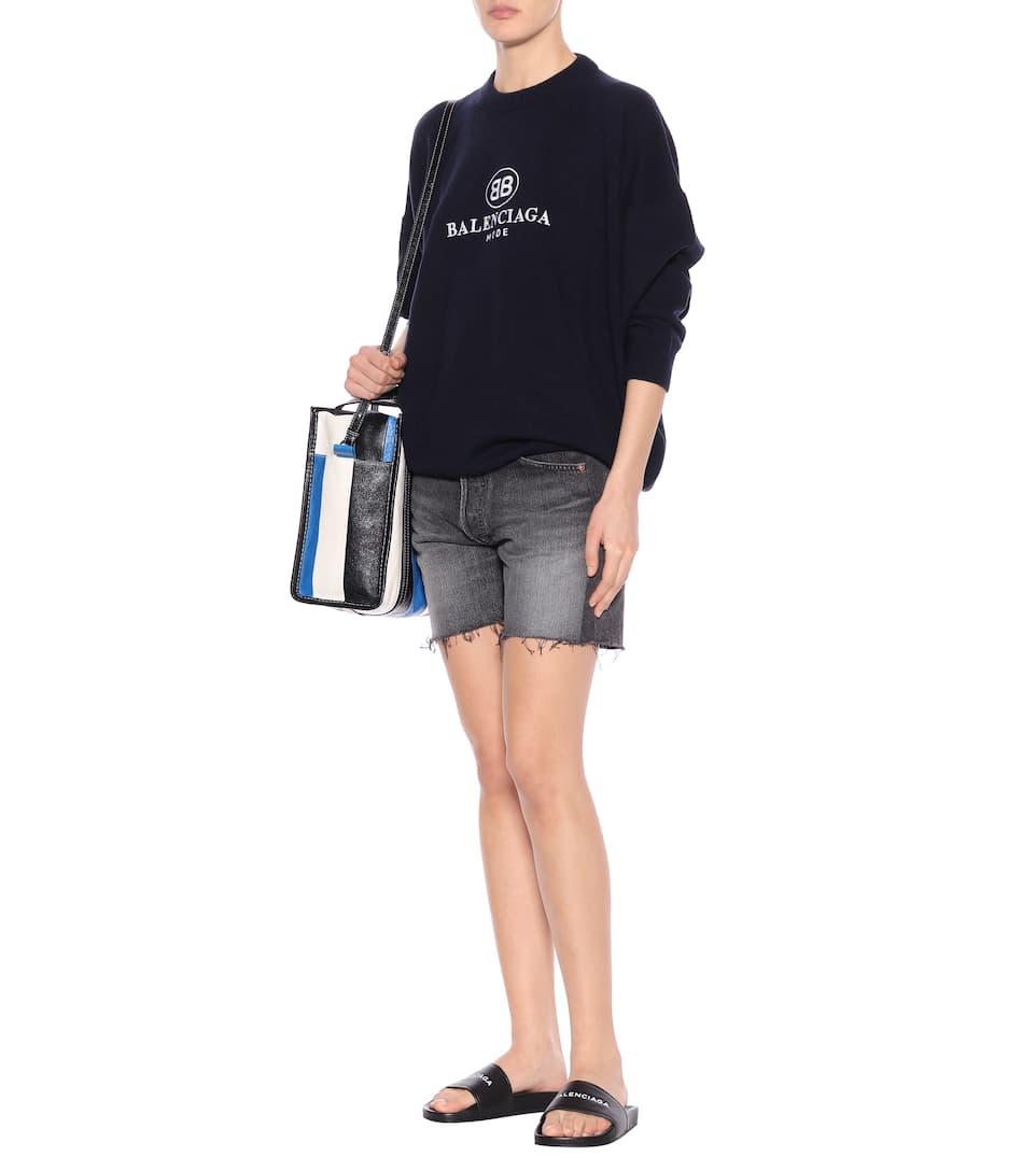 Balenciaga Jeansshorts aus Baumwolle