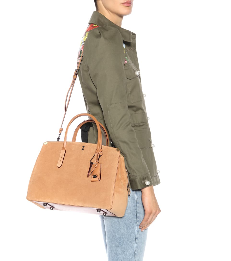 Coach Bag Copper From Suede