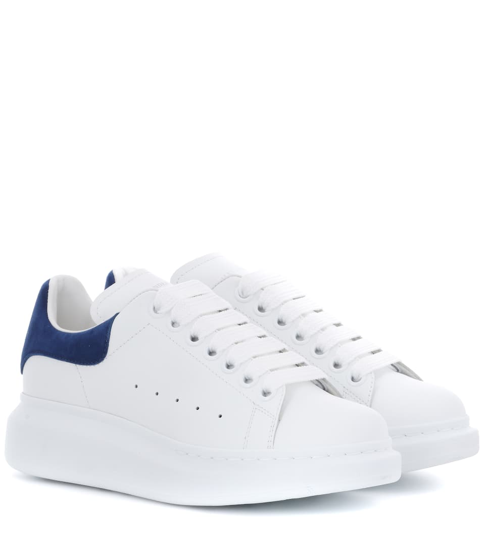 f8747b5f5447 Leather Sneakers - Alexander McQueen