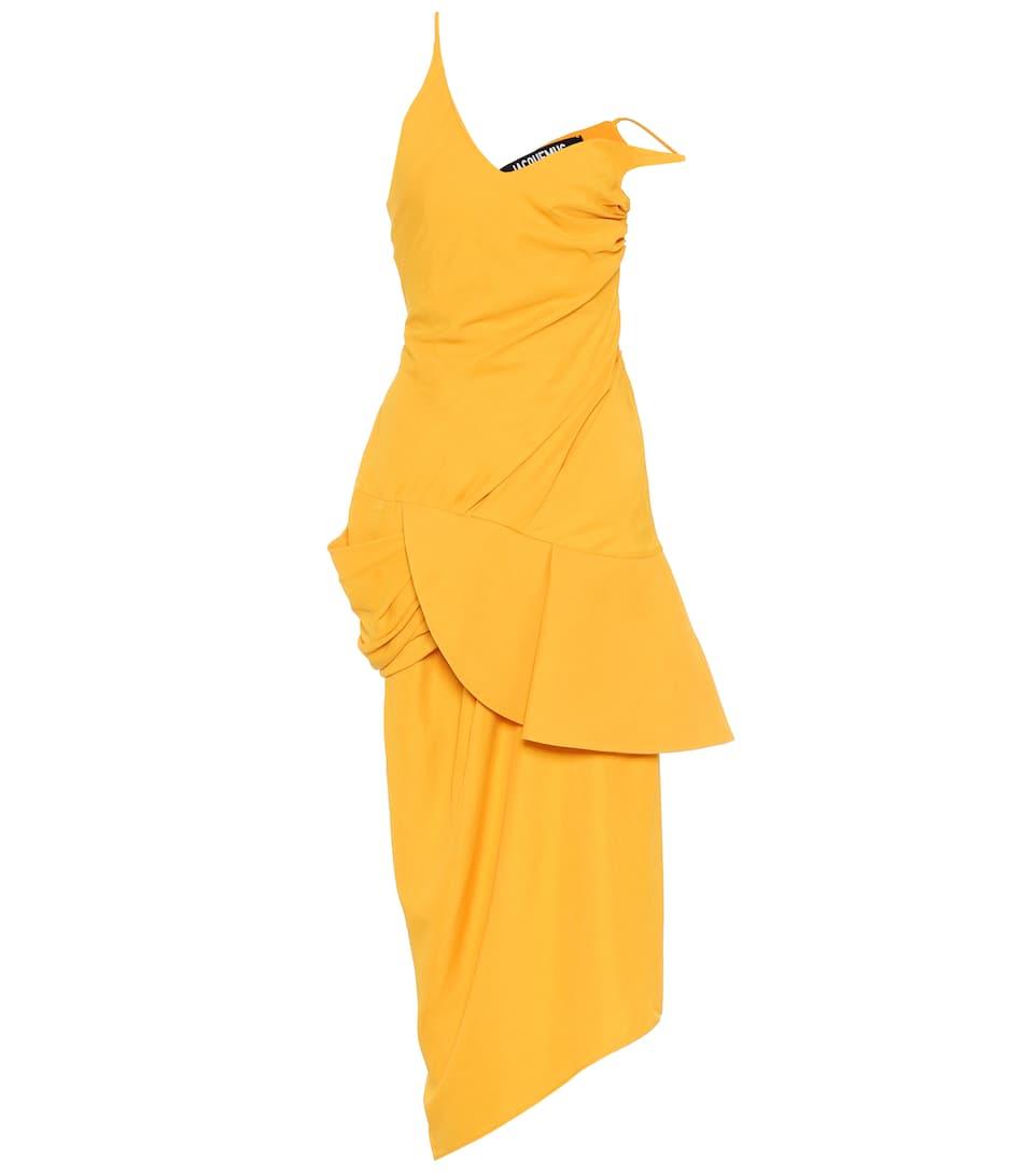 Jacquemus  LA ROBE SOL ASYMMETRIC DRESS