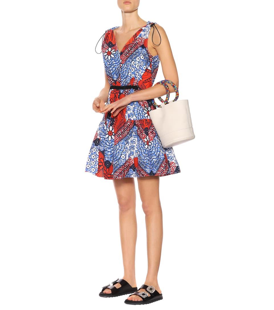 Stella McCartney Bedrucktes Minikleid aus Baumwolle
