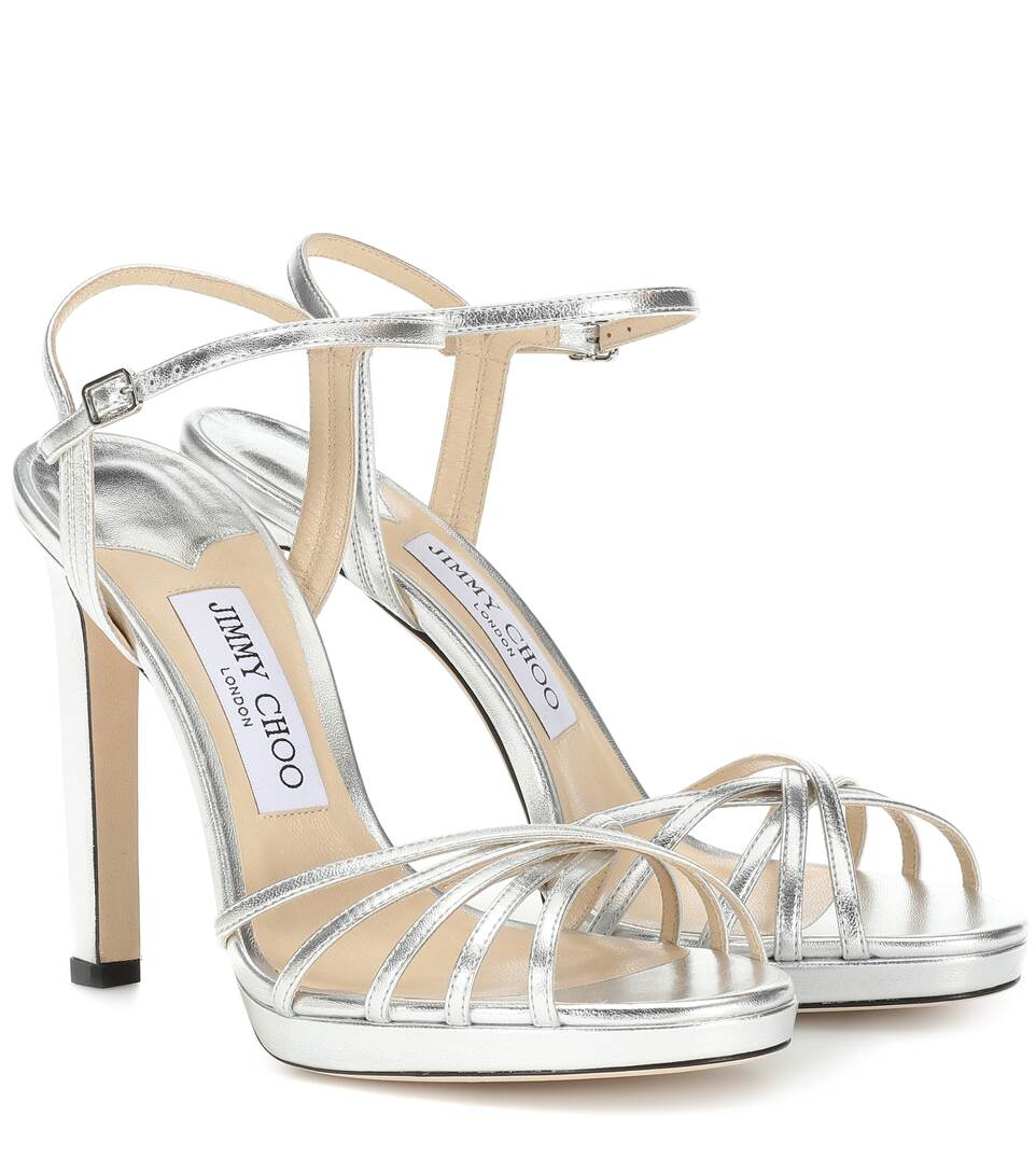Lilah 120 leather sandals