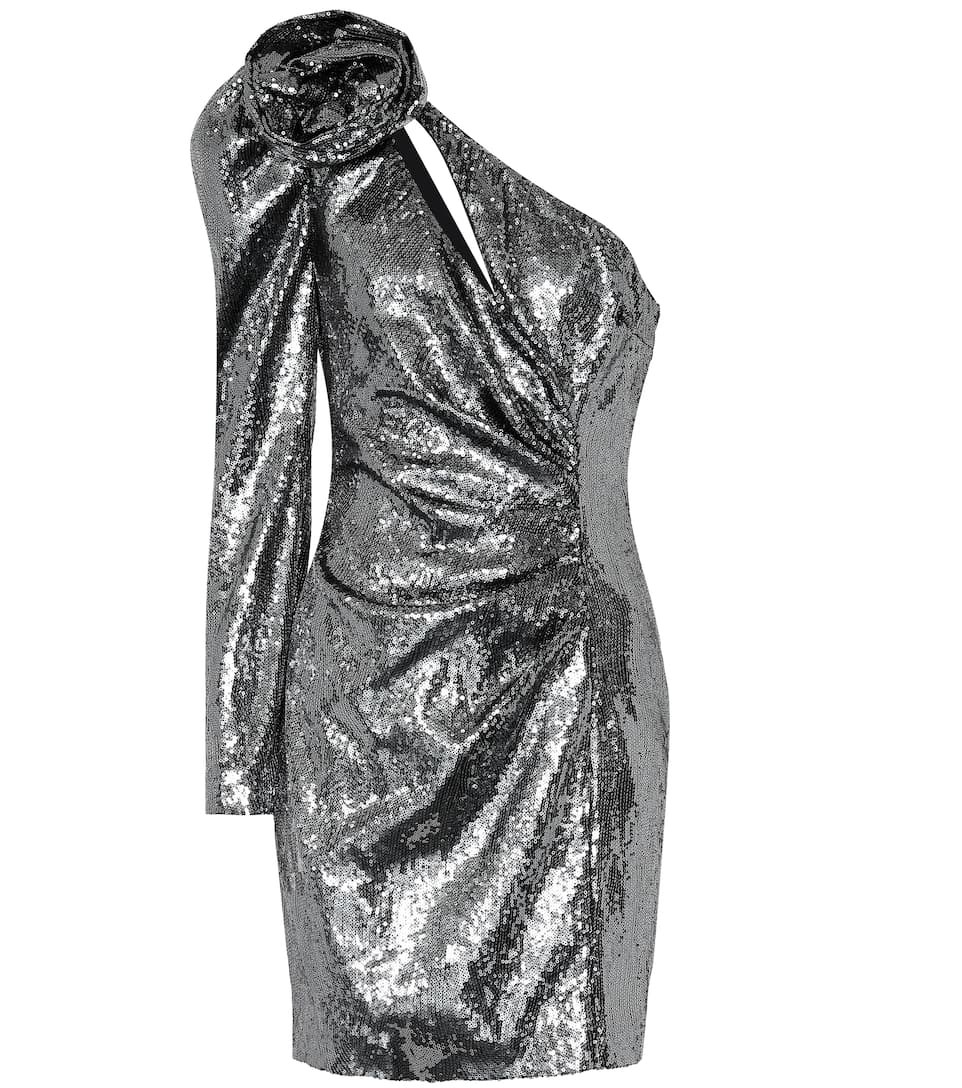 Dundas Robe Sequins Dundas À Robe Asymétrique 3qR4Aj5L