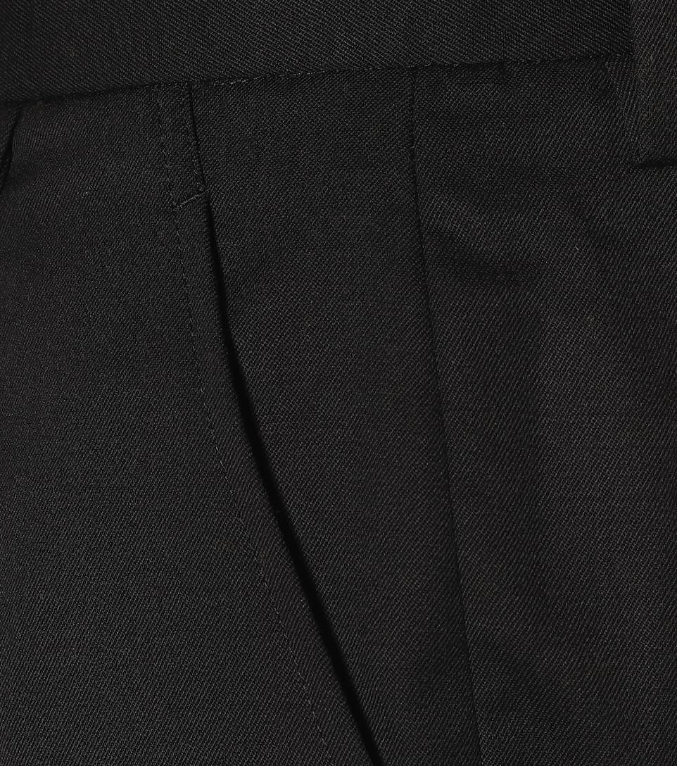 Wool High-Rise Straight Pants | Noir Kei Ninomiya - Mytheresa