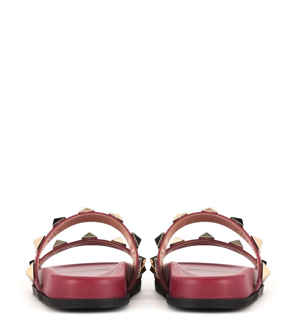 Valentino Valentino Garavani leather slides