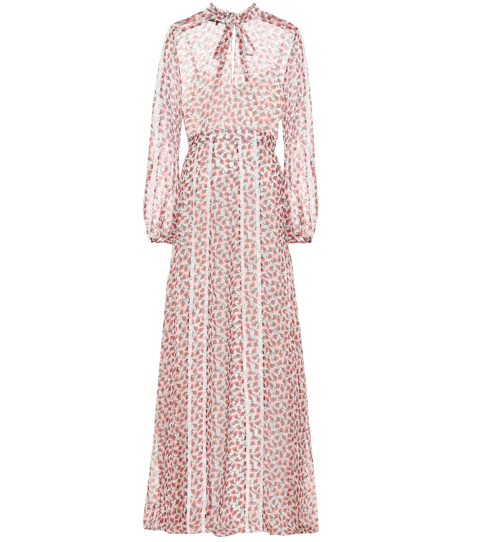 75149e1e3a1226 Rochas - Floral-printed silk maxi dress