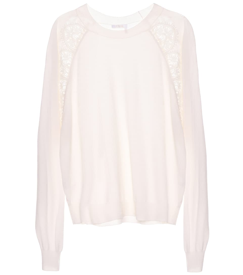 Chloé Pullover aus Wolle
