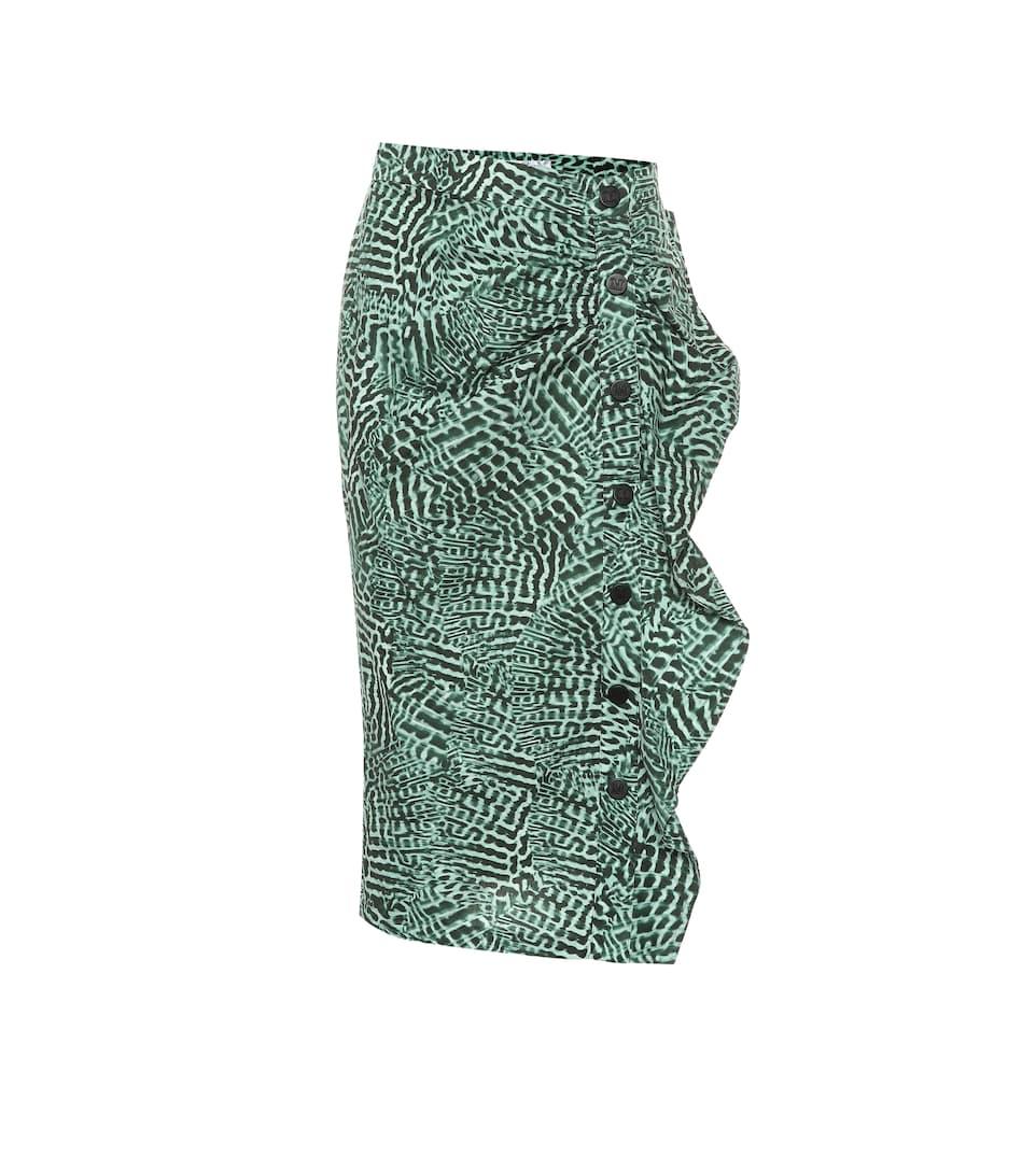 Max Mara - Falda Musette de algodón elastizada  4a2b88120181