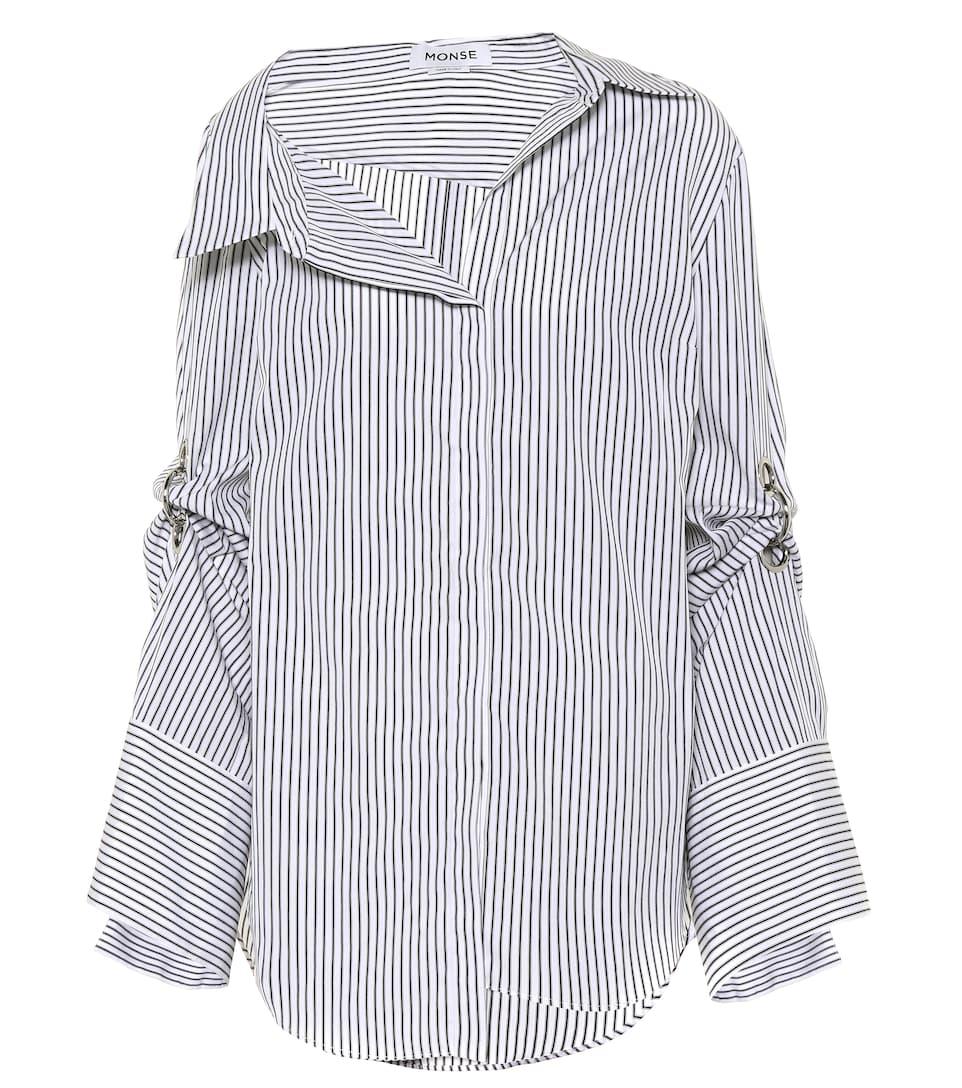 Monse Gestreiftes Hemd aus Baumwolle