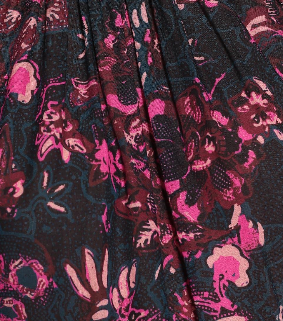 Fawn Floral Cotton-Blend Dress - Ulla Johnson