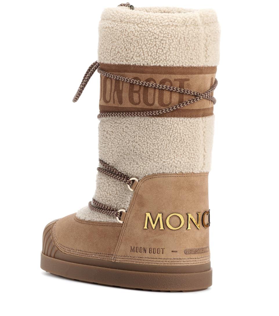Bottes Après-Ski X Moon Boot® - Moncler Livraison Rapide Vente En Ligne Style De Mode À Vendre C01pEdR