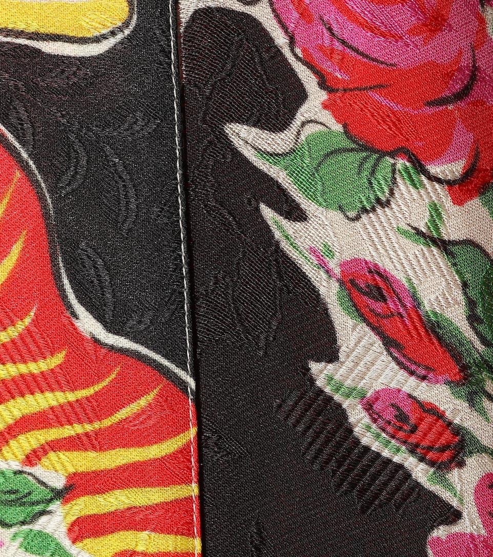 Rabatt Verkauf Online Gucci Bedruckter Cardigan mit Seidenanteil Besuchen Neue Günstig Online 31G9YtQpb