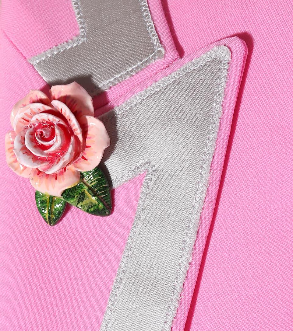 Dolce & Gabbana Blazer aus Wolle und Seide