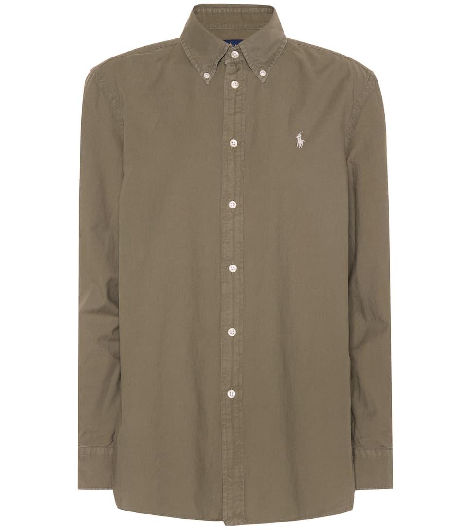 Polo Ralph Lauren Button Down Hemd aus Baumwolle