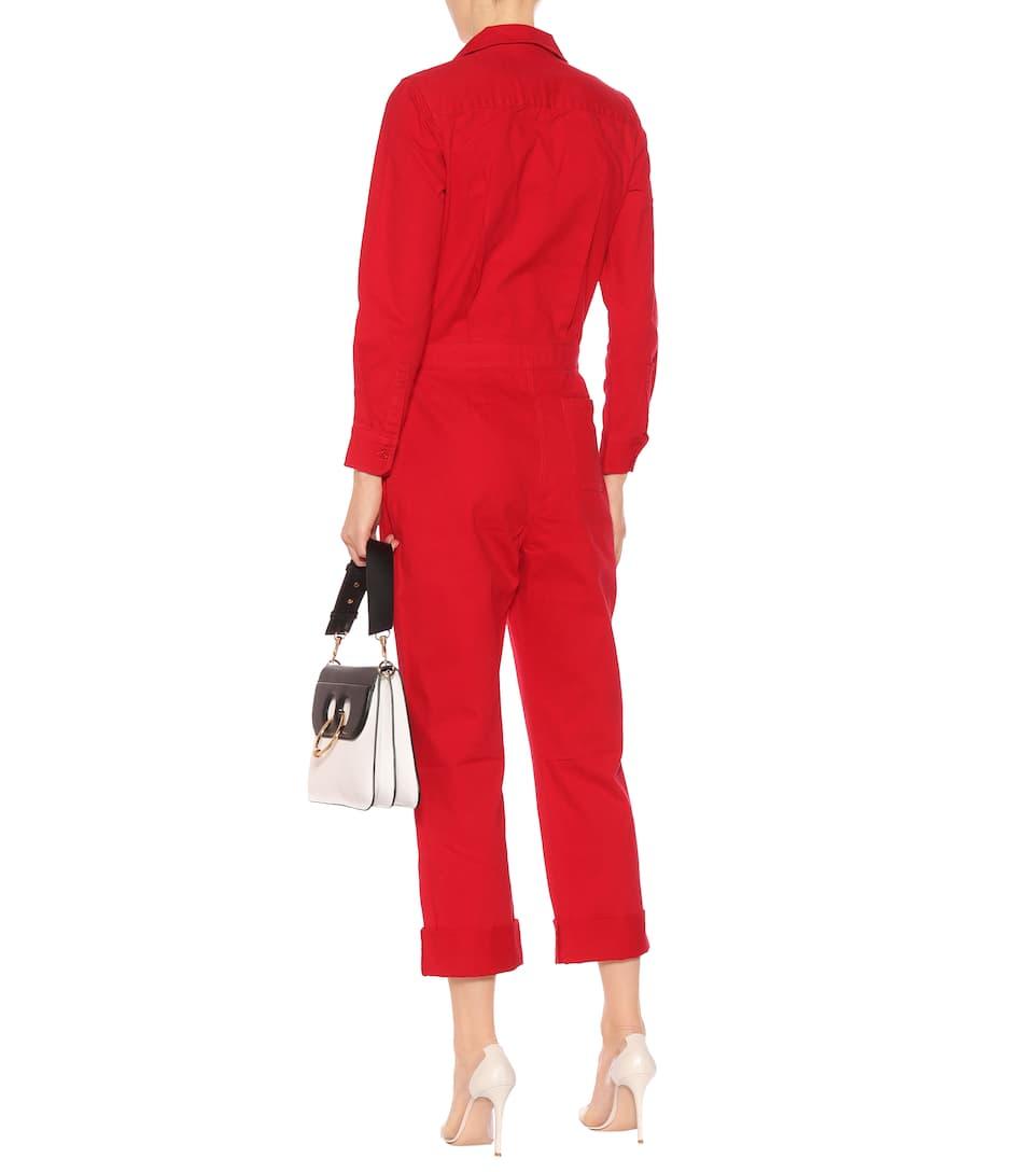 Günstigstener Preis Günstiger Preis Calvin Klein Jeans Jumpsuit aus Baumwolle Freies Verschiffen Zuverlässig Auslass Ausgezeichnet Äußerst B4Cl1l