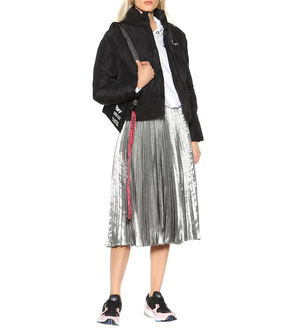 Adidas Originals Baskets en cuir, daim et résille Falcon W