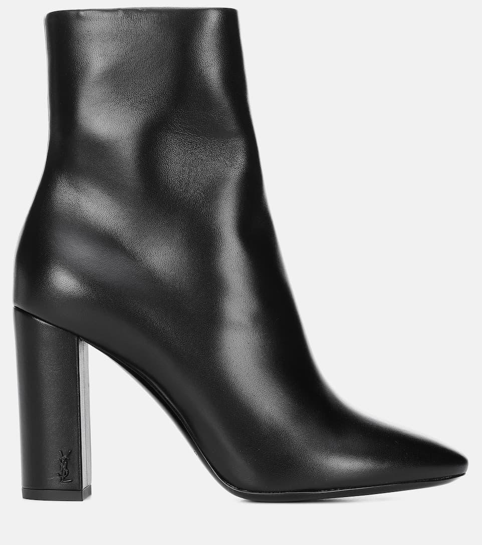 Lou 95 Leather Ankle Boots - Saint