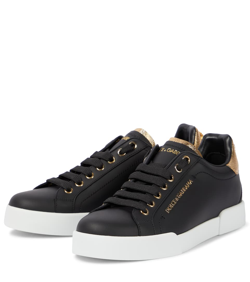 Portofino Baskets Gabbana En Dolceamp; Cuir Y7ygvbfI6