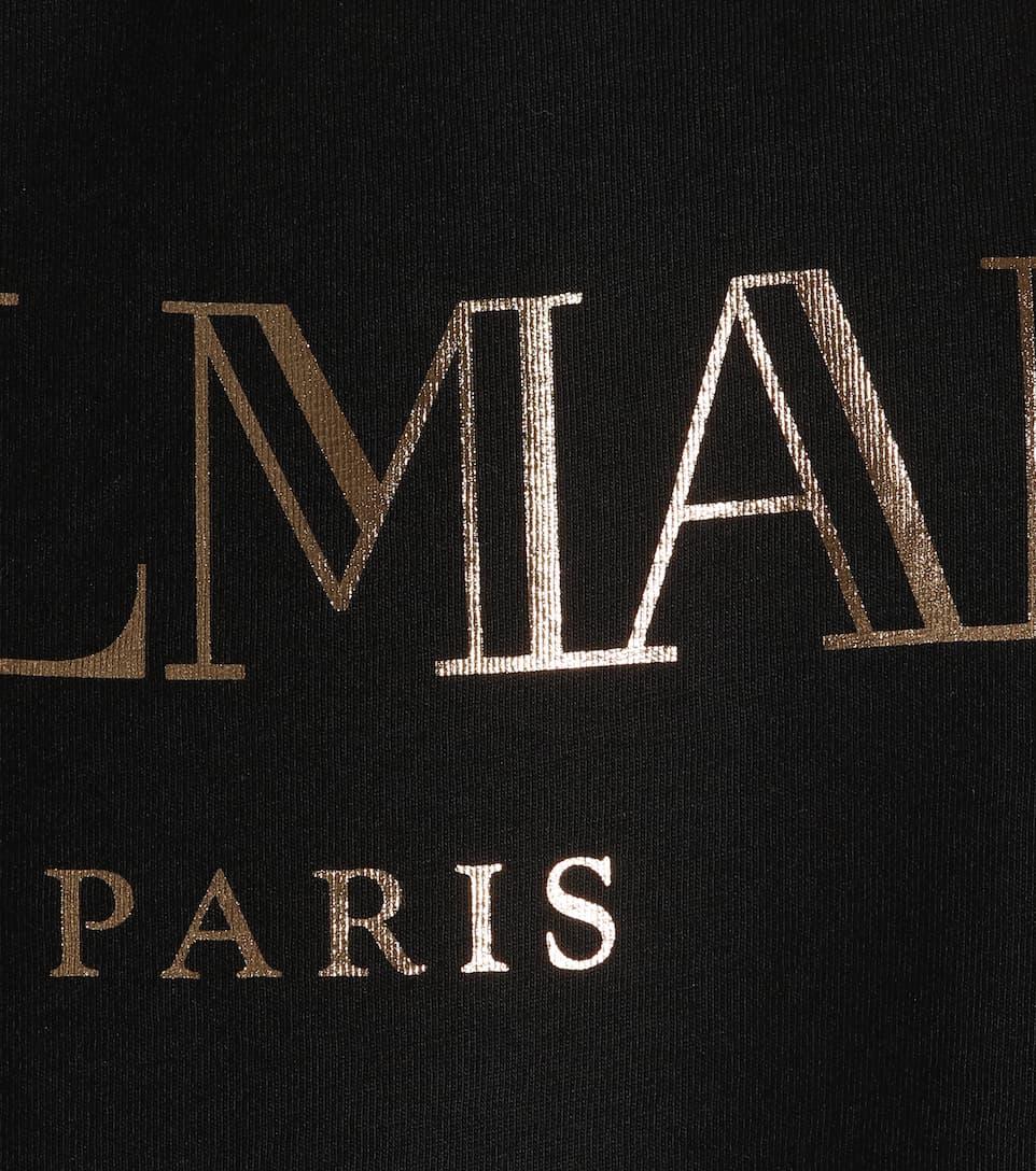 Balmain Printed Top From Cotton