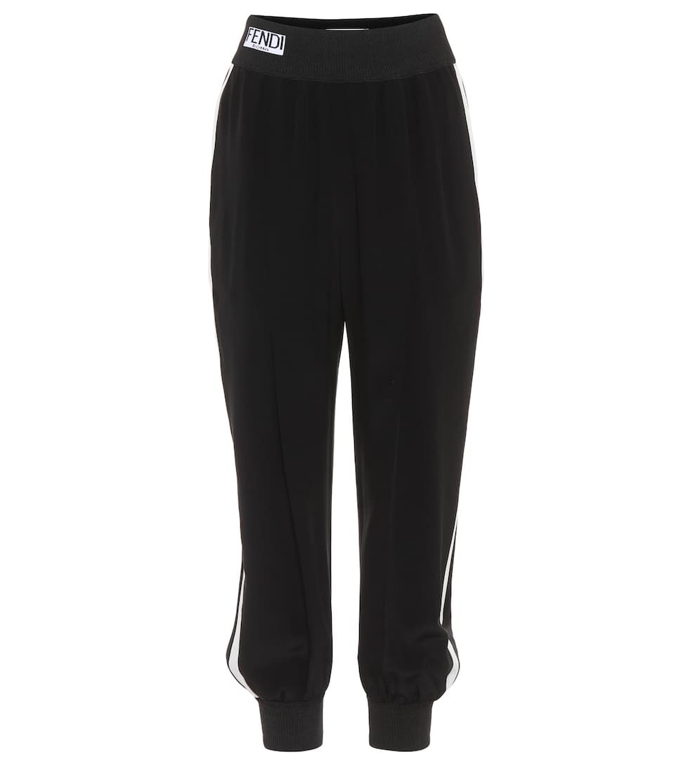 Fendi Trackpants aus Crêpe de Chine