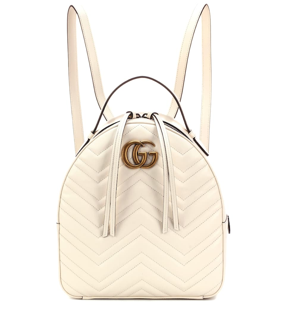 da4bea352eeb7 GUCCI Pre-Owned  Gg Marmont Backpack Matelasse Leather Small