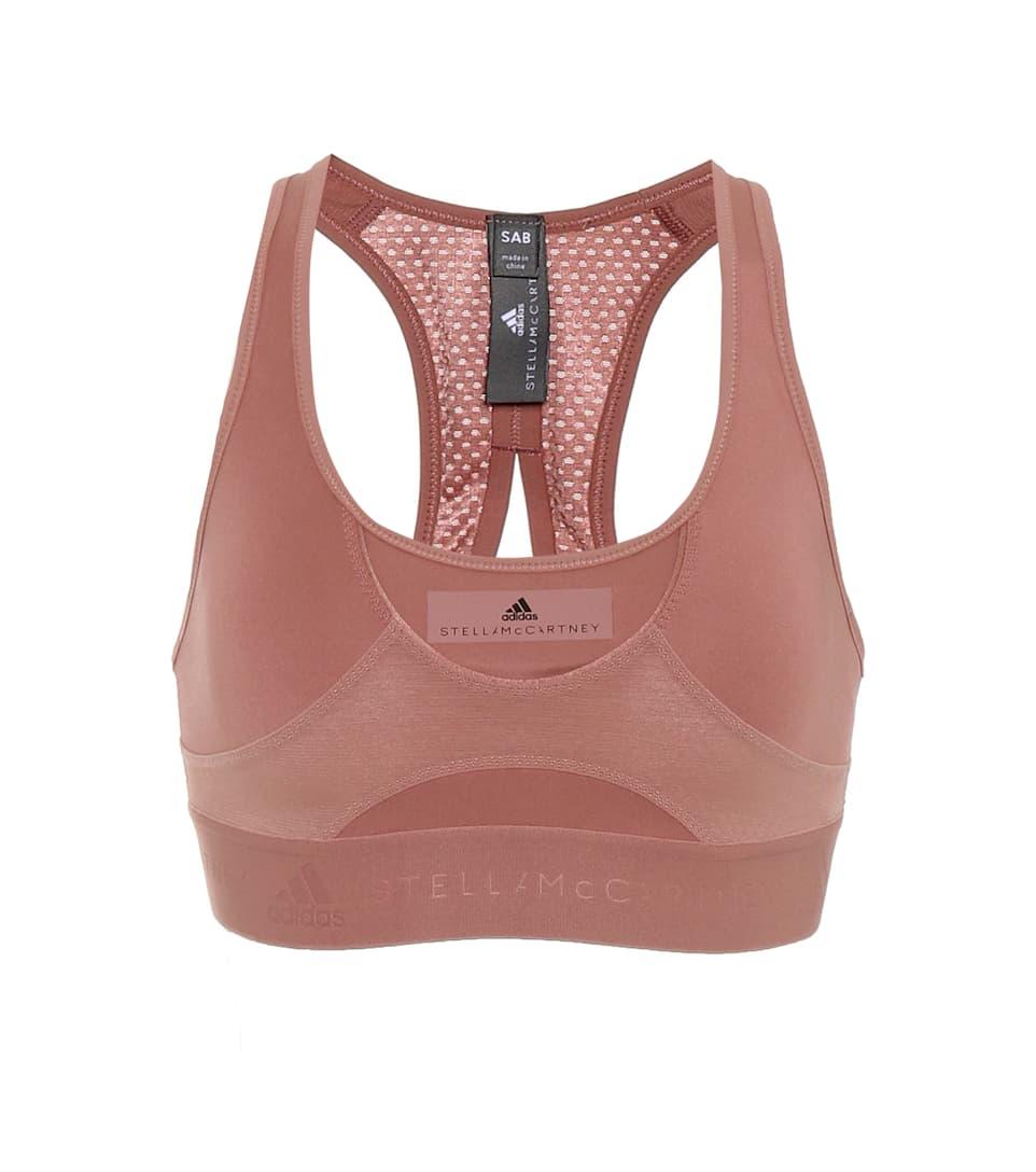 Adidas by Stella McCartney Sport-BH High Intensity 2018 Neueste Online-Verkauf Xij2ajsy