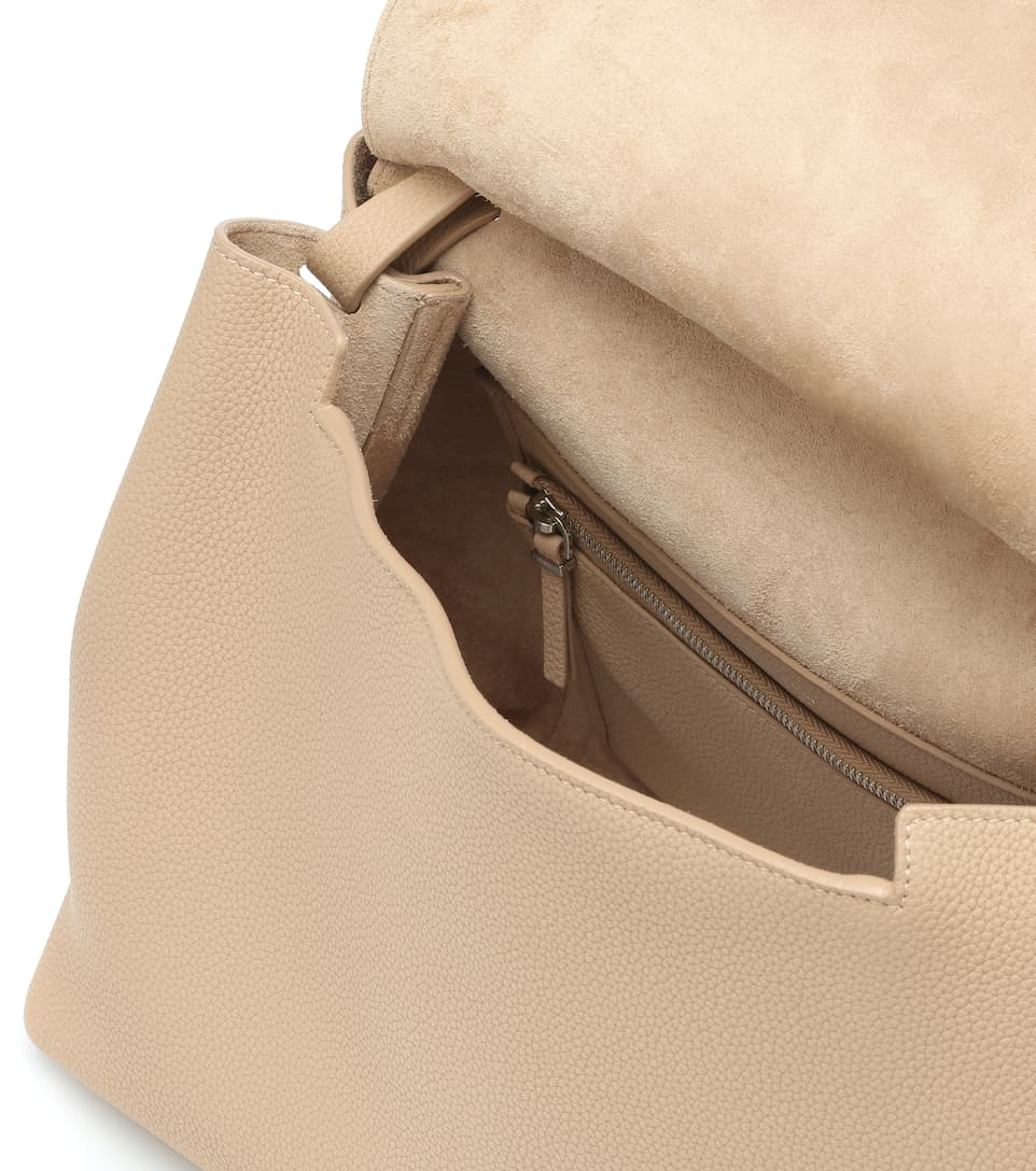 38ecfd66df The Row - Sidekick Two leather shoulder bag