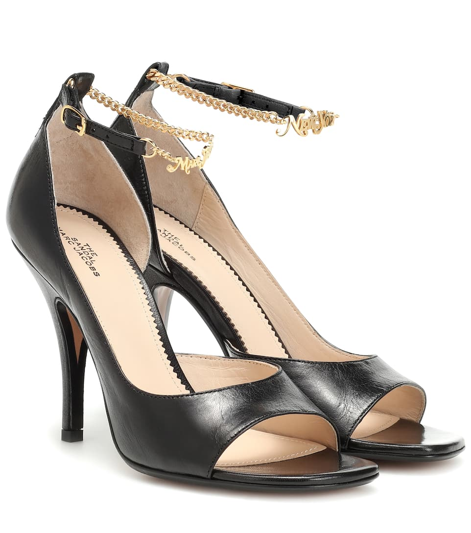 Embellished Leather Sandals by Marc Jacobs