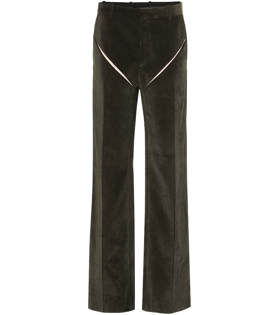 7def3b308e8ae6 Y/PROJECT - High-rise wide-leg corduroy pants | Mytheresa