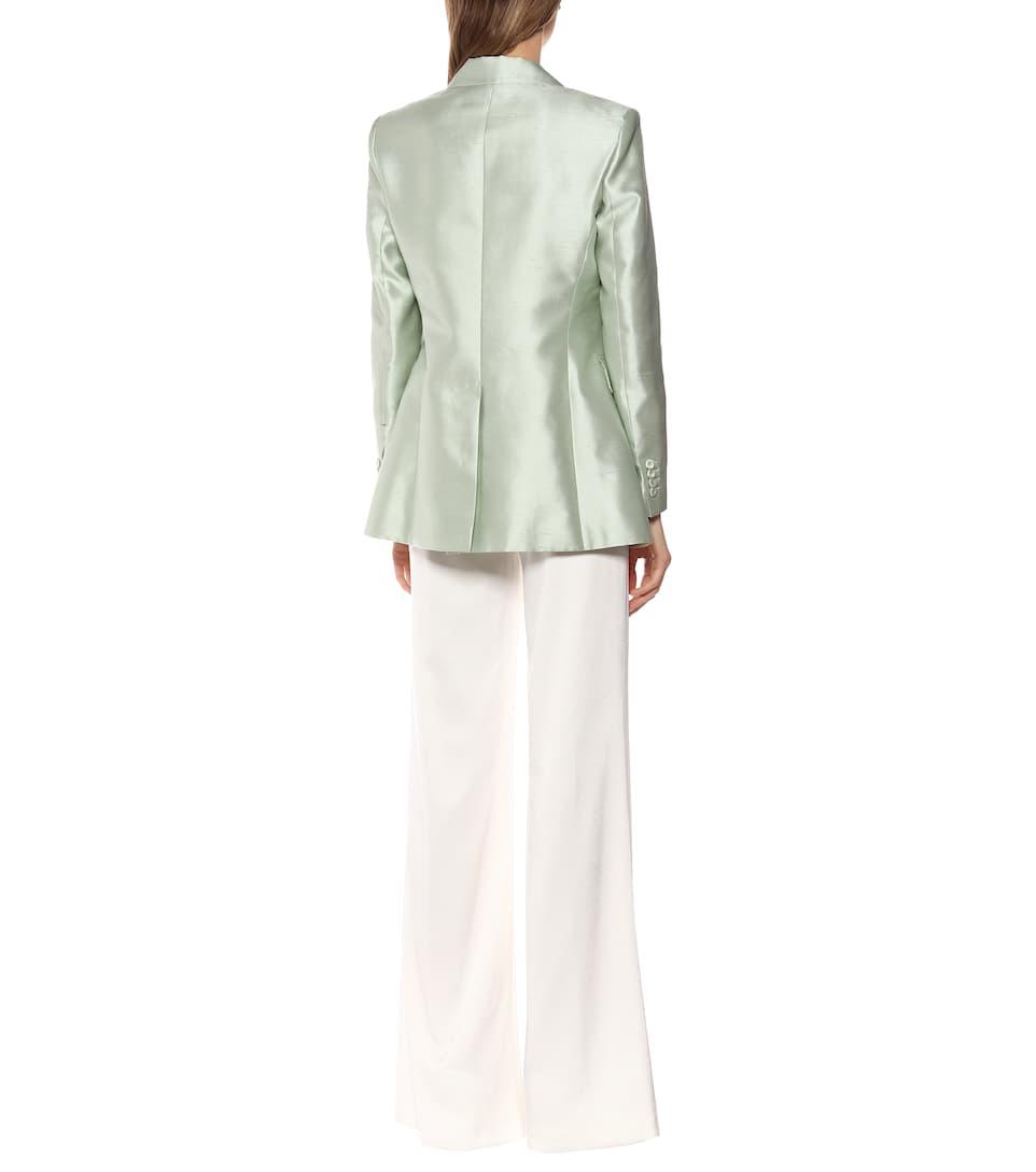 Max Mara - Omar cotton and silk blazer